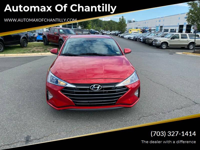 2020 Hyundai Elantra for sale at Automax of Chantilly in Chantilly VA