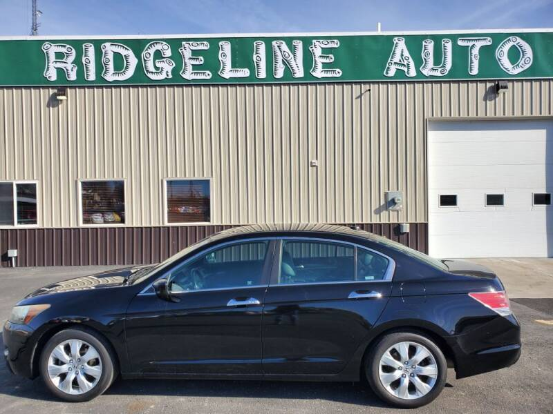 2009 Honda Accord for sale at RIDGELINE AUTO in Chubbuck ID