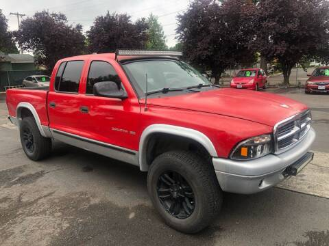 2002 Dodge Dakota for sale at Blue Line Auto Group in Portland OR