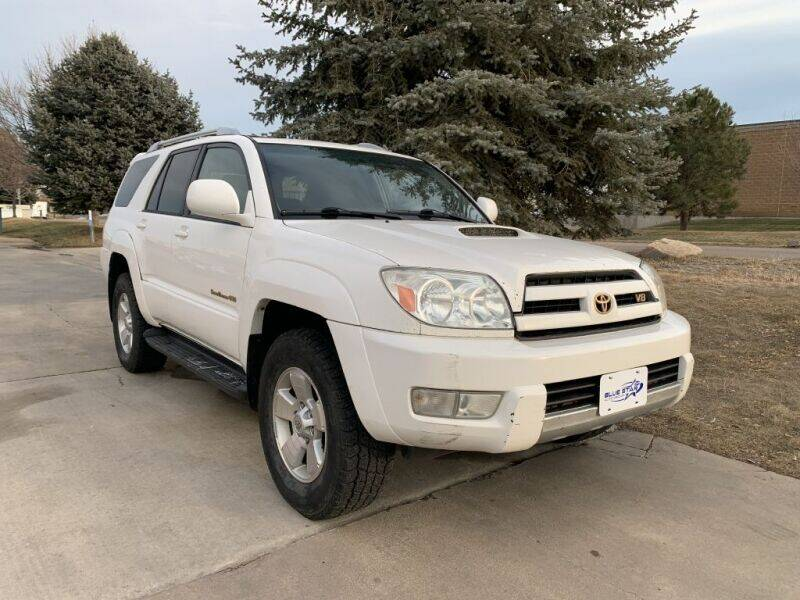 2003 Toyota 4Runner for sale at Tobias of Blue Star Auto Group in Frederick CO