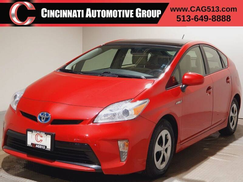 2015 Toyota Prius for sale at Cincinnati Automotive Group in Lebanon OH