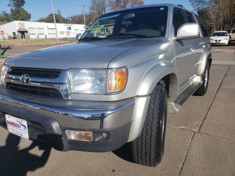 2001 Toyota 4Runner for sale at Gordon Auto Sales LLC in Sioux City IA