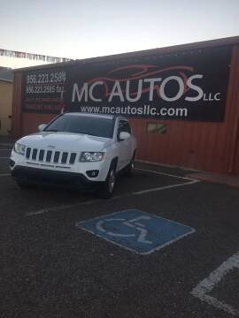 2017 Jeep Compass for sale at MC Autos LLC in Pharr TX
