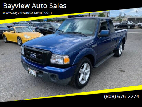 2010 Ford Ranger for sale at Bayview Auto Sales in Waipahu HI