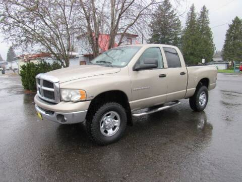 2004 Dodge Ram Pickup 2500 for sale at Triple C Auto Brokers in Washougal WA