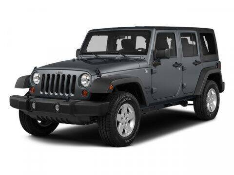 2015 Jeep Wrangler Unlimited for sale at J T Auto Group in Sanford NC