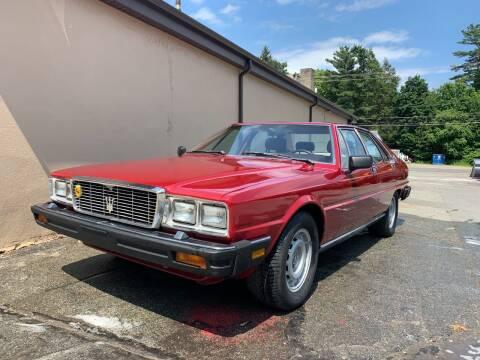 1982 Maserati Quattroporte for sale at Velocity Motors in Newton MA