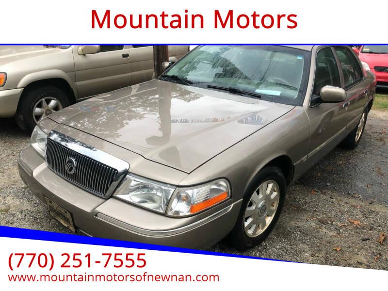 2005 Mercury Grand Marquis for sale at Mountain Motors in Newnan GA