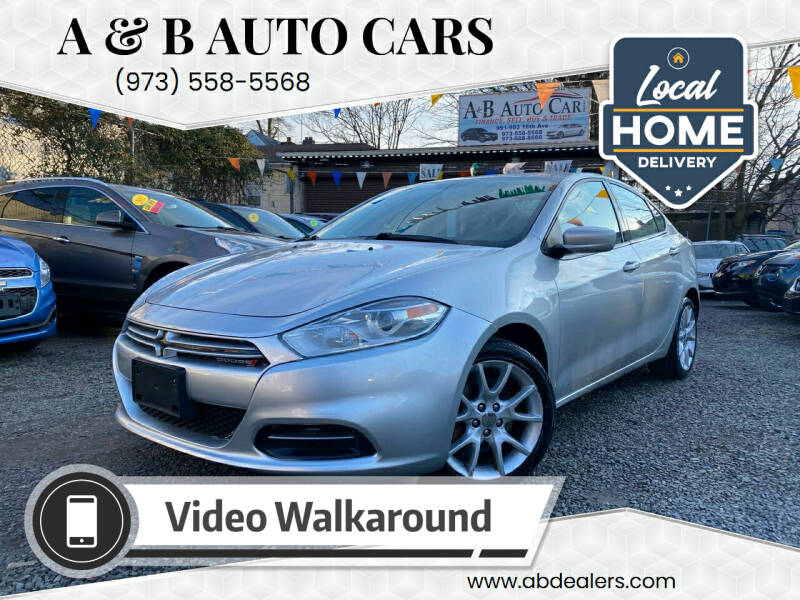 2013 Dodge Dart for sale at A & B Auto Cars in Newark NJ