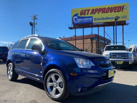 2013 Chevrolet Captiva Sport for sale at New Wave Auto Brokers & Sales in Denver CO
