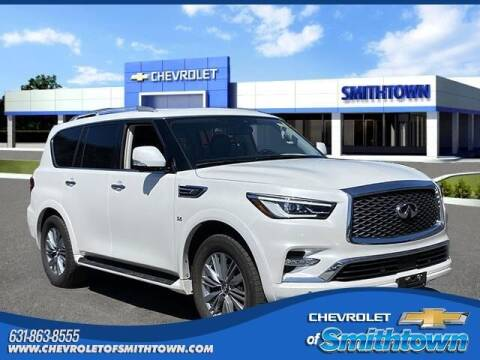 2019 Infiniti QX80 for sale at CHEVROLET OF SMITHTOWN in Saint James NY