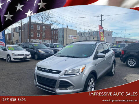 2013 Ford Escape for sale at Impressive Auto Sales in Philadelphia PA