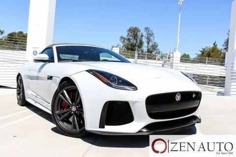 2017 Jaguar F-TYPE for sale at Zen Auto Sales in Sacramento CA