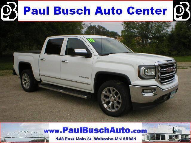 2018 GMC Sierra 1500 for sale at Paul Busch Auto Center Inc in Wabasha MN