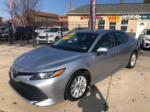 2018 Toyota Camry for sale at DYNAMIC CARS in Baltimore MD