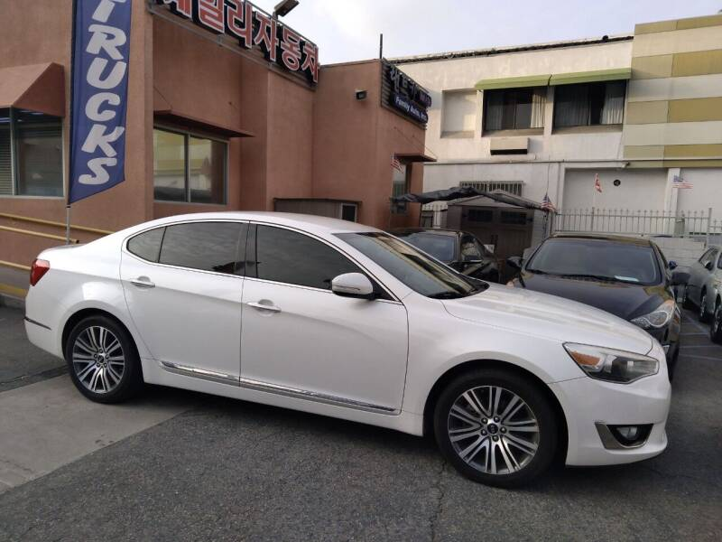 2015 Kia Cadenza for sale at Western Motors Inc in Los Angeles CA