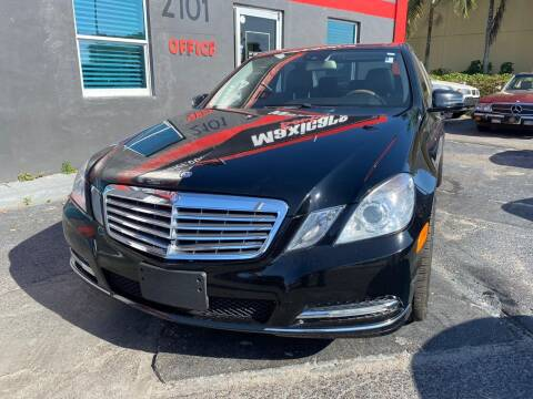 2012 Mercedes-Benz E-Class for sale at Maxicars Auto Sales in West Park FL