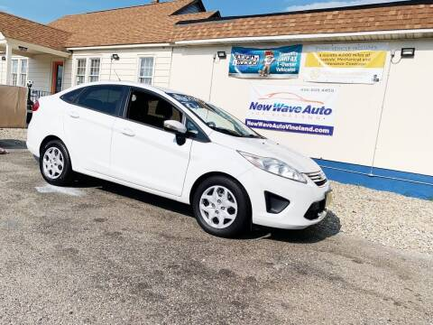 2013 Ford Fiesta for sale at New Wave Auto of Vineland in Vineland NJ