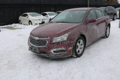 2016 Chevrolet Cruze Limited for sale at F & M AUTO SALES in Detroit MI
