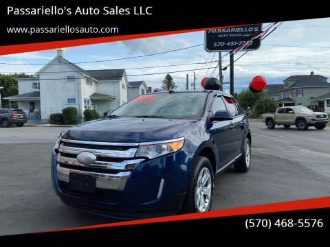 2012 Ford Edge for sale at Passariello's Auto Sales LLC in Old Forge PA