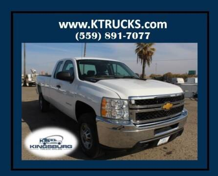 2013 Chevrolet Silverado 2500HD for sale at Kingsburg Truck Center in Kingsburg CA
