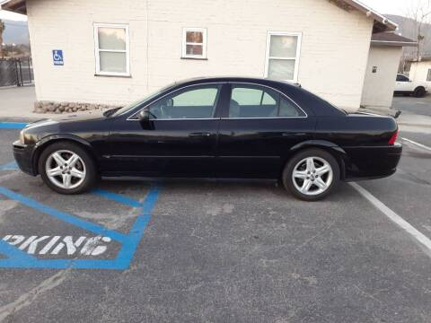 2000 Lincoln LS for sale at RN AUTO GROUP in San Bernardino CA