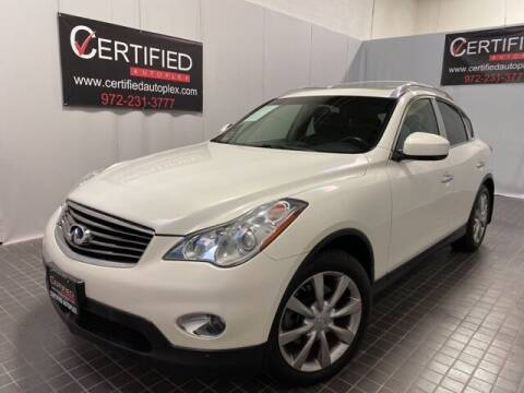 2012 Infiniti EX35 for sale at CERTIFIED AUTOPLEX INC in Dallas TX