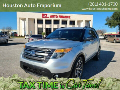 2015 Ford Explorer for sale at Houston Auto Emporium in Houston TX
