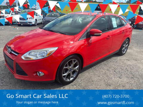 2014 Ford Focus for sale at Go Smart Car Sales LLC in Winter Garden FL