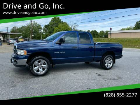 2004 Dodge Ram Pickup 1500 for sale at Drive and Go, Inc. in Hickory NC