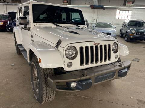 2016 Jeep Wrangler Unlimited for sale at John Warne Motors in Canonsburg PA