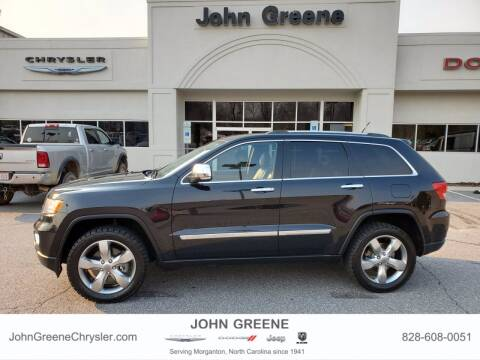 2012 Jeep Grand Cherokee for sale at John Greene Chrysler Dodge Jeep Ram in Morganton NC