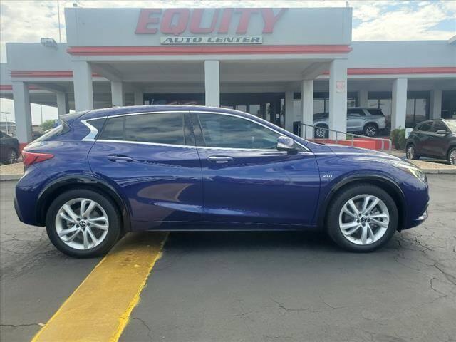 2018 Infiniti QX30 for sale at EQUITY AUTO CENTER in Phoenix AZ