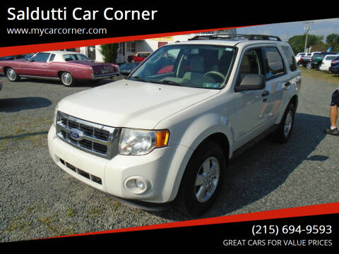 2010 Ford Escape for sale at Saldutti Car Corner in Gilbertsville PA