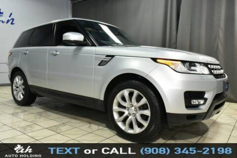 2015 Land Rover Range Rover Sport for sale at AUTO HOLDING in Hillside NJ
