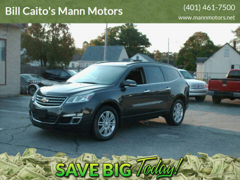 2015 Chevrolet Traverse for sale at Bill Caito's Mann Motors in Warwick RI