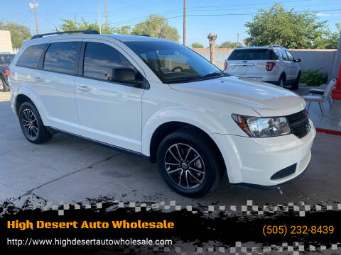 2018 Dodge Journey for sale at High Desert Auto Wholesale in Albuquerque NM