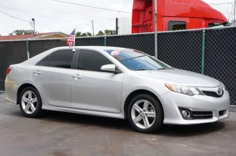 2014 Toyota Camry for sale at MATRIX AUTO SALES INC in Miami FL