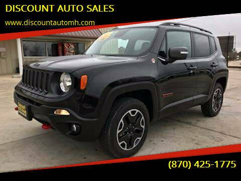 2017 Jeep Renegade for sale at DISCOUNT AUTO SALES in Mountain Home AR