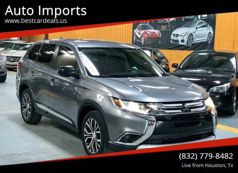 2017 Mitsubishi Outlander for sale at Auto Imports in Houston TX