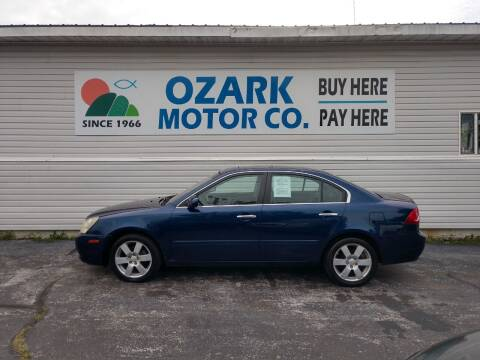 2007 Kia Optima for sale at OZARK MOTOR CO in Springfield MO