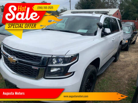 2016 Chevrolet Tahoe for sale at Augusta Motors in Augusta GA
