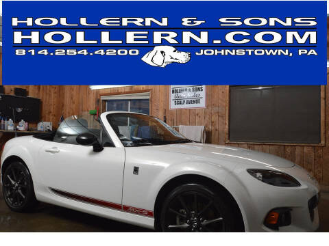 2014 Mazda MX-5 Miata for sale at Hollern & Sons Auto Sales in Johnstown PA