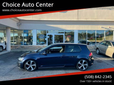 2016 Volkswagen Golf GTI for sale at Choice Auto Center in Shrewsbury MA
