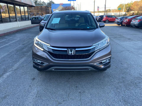 2015 Honda CR-V for sale at J Franklin Auto Sales in Macon GA