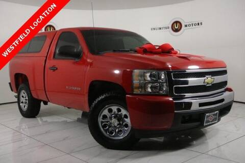 2010 Chevrolet Silverado 1500 for sale at INDY'S UNLIMITED MOTORS - UNLIMITED MOTORS in Westfield IN