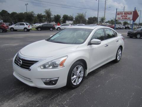 2013 Nissan Altima for sale at Blue Book Cars in Sanford FL
