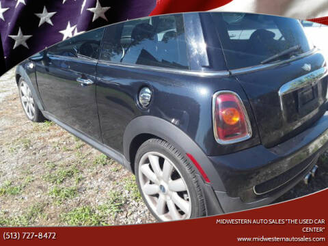 "2009 MINI Cooper for sale at MIDWESTERN AUTO SALES        ""The Used Car Center"" in Middletown OH"