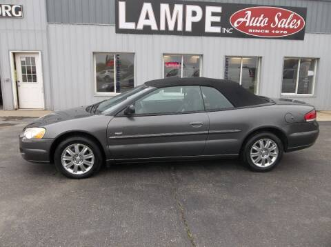 2004 Chrysler Sebring for sale at Lampe Auto Sales in Merrill IA