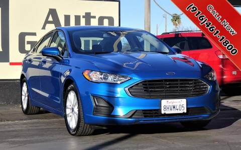 2019 Ford Fusion for sale at H1 Auto Group in Sacramento CA